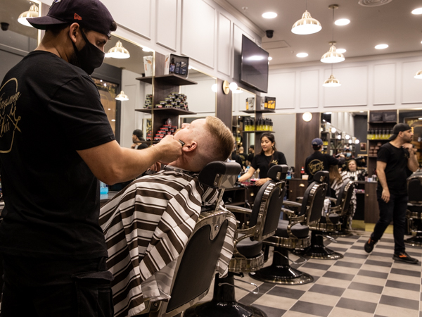 photo of Kingsmen Hair barber beard shave in East Maitland
