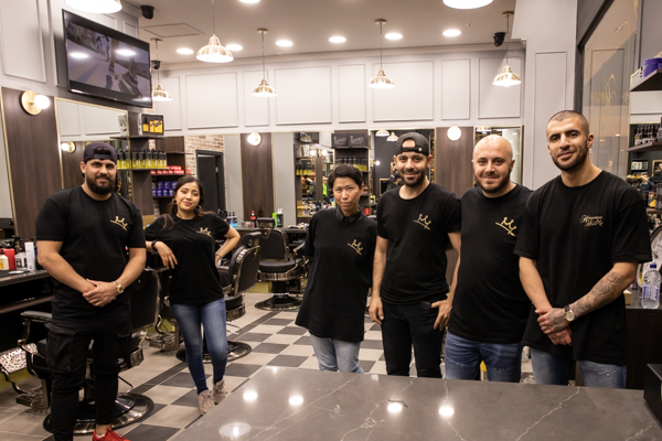 photo of Kingsmen Hair barbers team in East Maitland